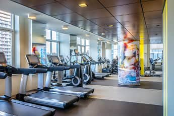Fitness Weight Room, The BLVD Collection, 2