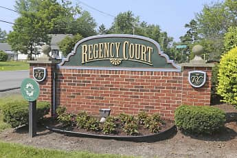 Community Signage, Regency Court Apartments, 2