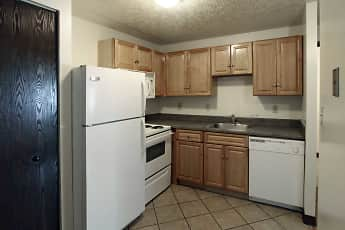 Kitchen, Riverwalk Apartments, 0