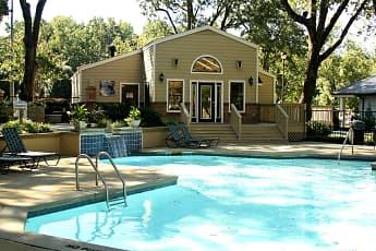 Pool, Towne Creek Apartments, 1