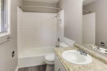 Bathroom, T Street Apartments, 2