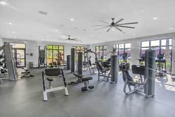 Fitness Weight Room, Aventura Harbor, 1
