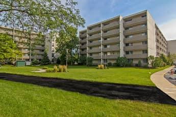 Building, Park Towers Apartments, 0