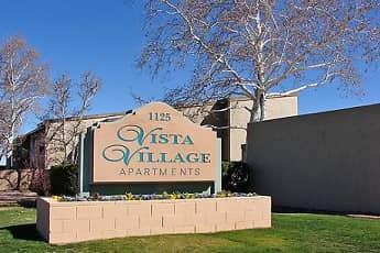 Community Signage, Vista Village Apartments, 0