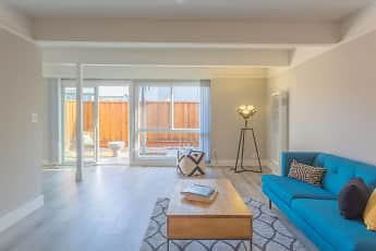 Living Room, The Preston at Hillsdale, 0