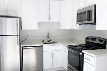 Kitchen, Bradley Apartments, 0