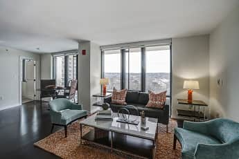 Living Room, DelRay Tower, 1