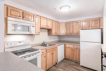 Kitchen, Highland House Apartments, 1