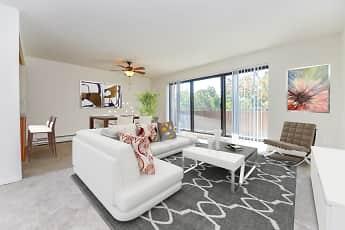 Living Room, Colonials Apartment Homes, 0