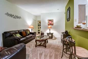 Living Room, Reata Apartments, 1