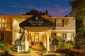 Community Signage, Woodcliff Apartment Homes, 2