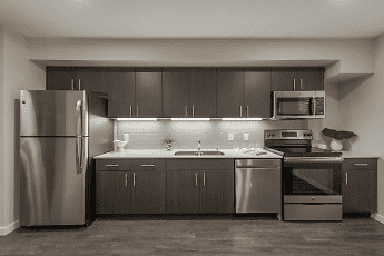 Kitchen, 192nd West Lofts, 0