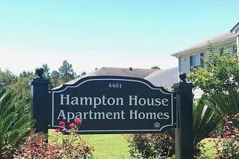 Building, Hampton House Apartments, 0
