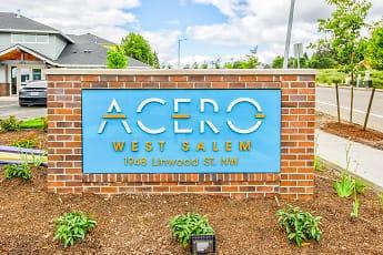 Community Signage, Acero West Salem, 2
