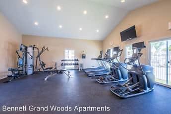 Fitness Weight Room, Bennett Grand Woods, 0