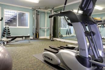 Fitness Weight Room, El Portal Apartments, 1