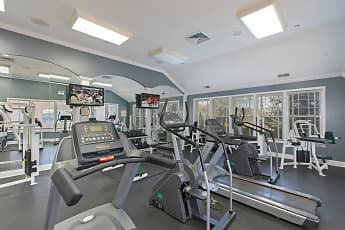 Fitness Weight Room, Villages at Canterfield, 2