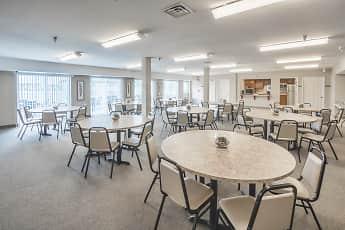 Dining Room, Oak Hill Senior Apartments, 2