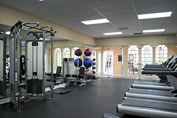 Fitness Weight Room, Country Club Lakes, 2