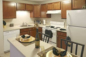 Kitchen, Town Hall Terrace Apartments, 1