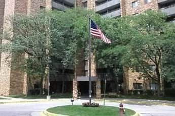 Building, Wayne Tower Senior Living, 0