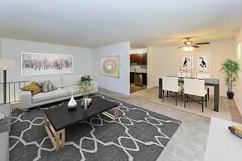 Living Room, Mt. Arlington Gardens Apartment Homes, 0