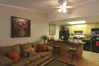 Living Room, The Bungalows Of Port Orange Apartments, 0