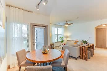 Dining Room, The Bend at Crescent Pointe, 2