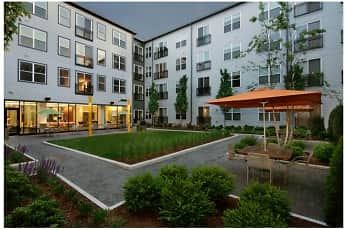 Courtyard, West Square, 1
