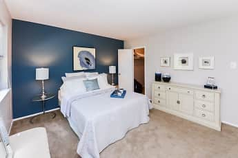 Bedroom, Brookside Manor Apartments & Townhomes, 1