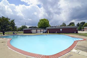 Pool, Jamestown Village Apartments, 0