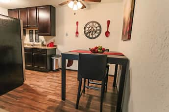 Dining Room, Glen Pond Apartments, 1