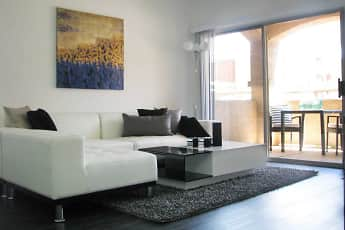 Living Room, Riverwalk Condominiums, 0