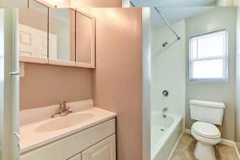 Bathroom, Windsor Apartments, 2