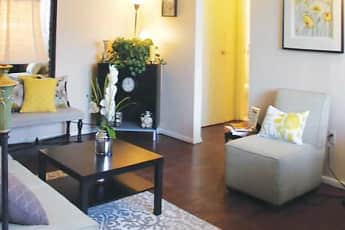 Living Room, St. James Apartments, 1