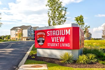 Community Signage, Stadium View, 2