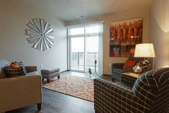 Living Room, The Bay Lofts Apartments, 1