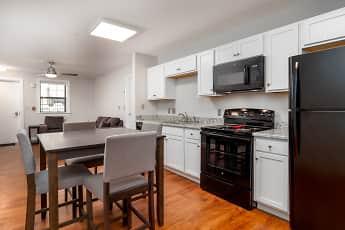 Kitchen, Spring Garden Station Student Apartments, 0