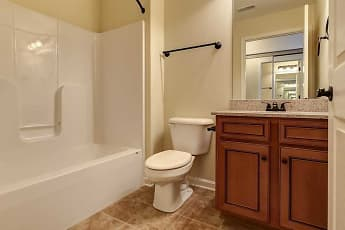 Bathroom, Overbrook Apartments, 2