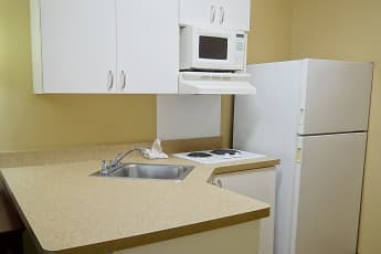 Kitchen, Furnished Studio - Fayetteville - Owen Dr., 1