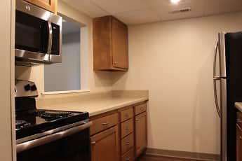 Kitchen, Trenton Square Apts, 1