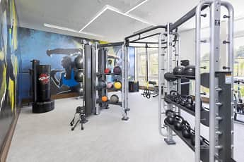 Fitness Weight Room, Park Square, 1