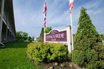 Community Signage, Concorde Club, 0