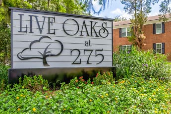 Community Signage, Live Oaks at 275, 2