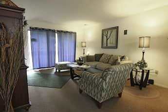 Living Room, Hempstead Garden Apartments, 0