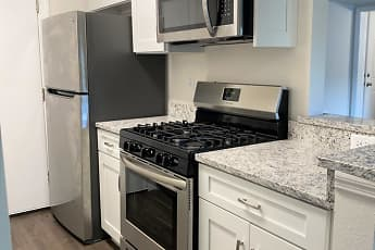 Kitchen, Granada Apartments, 1
