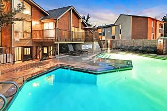 Pool, Fox Creek Apartments, 1
