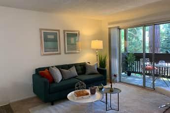Living Room, Meadowwood Apartments, 0