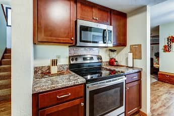 Kitchen, Victoria Townhomes, 0