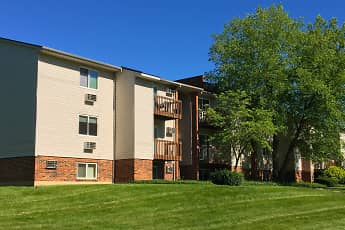Building, Oakwood Apartments, 1